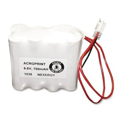 Acroprint 58-0108-000 Optional Back-Up Battery for Model ES900 Electronic P