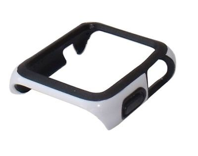 Genuine Speck Candyshell Fit Watch Case for 42mm Apple iWatch - White / Black
