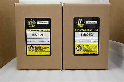 3-500 3-500ZG PENTA LABS Matched Pair in Factory Sealed Boxes CB Radio