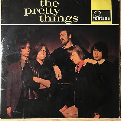 THE PRETTY THINGS *SAME* 1st LP * RARE UK MONO FIRST PRESS 1965