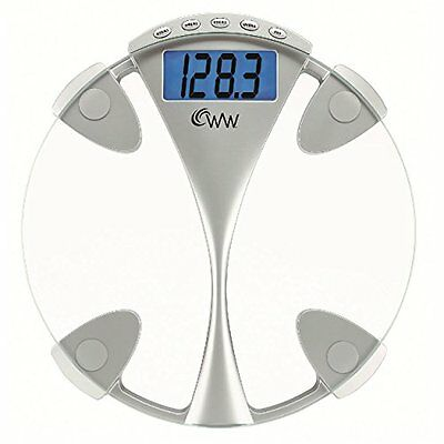 Weight Watchers by Conair Glass Weight Tracking Scale