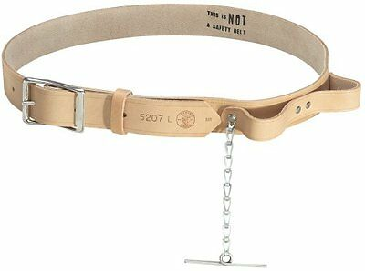 Klein Tools 5207XL Electrician's Leather Tool Belt