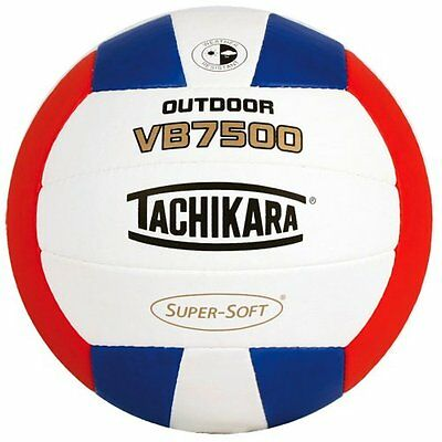 Tachikara VB7500 SUPER-SOFT Composite Leather Stitched Outdoor Volleyball (