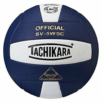 Tachikara Sensi-Tec Composite High Performance Volleyball (White/Navy)
