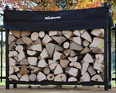 The Woodhaven 5-ft Firewood Log Rack - Woodhaven Official Site