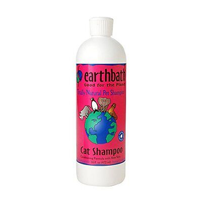 Earthbath All Natural Cat Shampoo and Conditioner in 1, 16-O