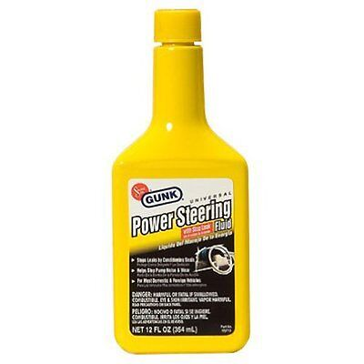 Motor Medic M2713 Universal Power Steering Fluid with Stop L