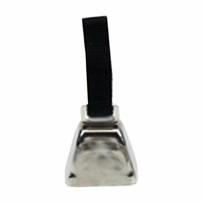 Coastal Pet R4511 G BLKCLG Nickel Cow Bell, Large