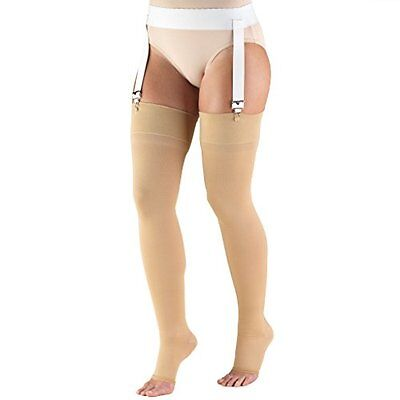Truform 0866, Compression Stockings for Men & Women, Thigh H