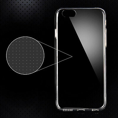 TRANSPARENT CASE COVER FOR IPHONE 6 0.3mm SLIM MATTE CLEAR STICKER FREE SHIPPING