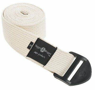 Hugger Mugger Cinch Yoga Strap 6-Foot (Natural)
