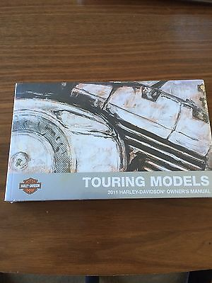 Harley Davidson 2011 Touring Models Owners Manual New In Cellophane!!