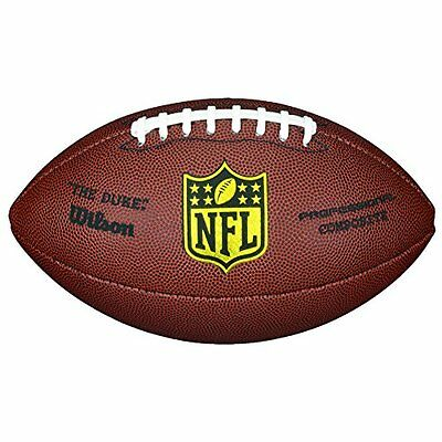 Wilson F1825 NFL Pro Replica Game Football (Official Size)