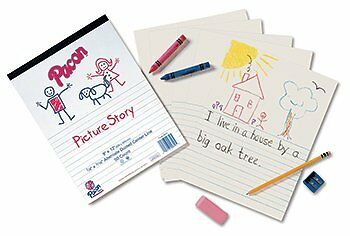 Pacon Corporation Pac2610 Picture Story Paper Pad