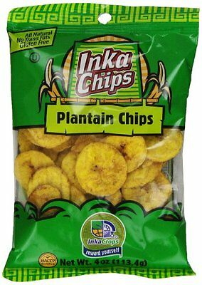 Inka Crops Inka Crops Roasted Plantains  4-Ounce bags (Pack of 12)