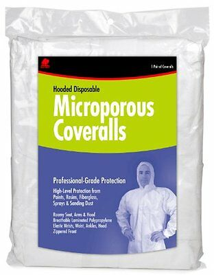 Buffalo 68254 Microporous Coveralls, Large