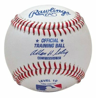 Rawlings Level 10 Official Training Baseball (Pack of 12)