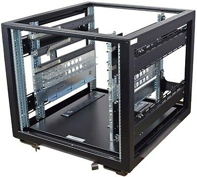 Emcor 100032505-04 Network Switch Storage Enclosure Floor Cabinet Chassis