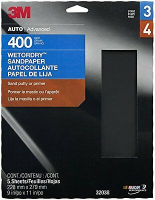 "3M 32038 Imperial Wetordry 9"" x 11"" P400 Grit Sheet"