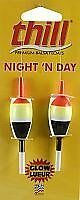 Thill Night 'N Day Glow Floats - 3/4 in Oval- Slip
