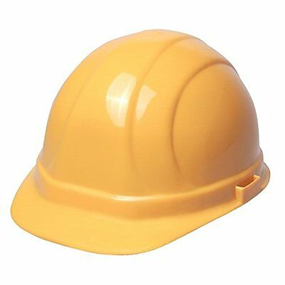 ERB 19952 Omega II Cap Style Hard Hat with Mega Ratchet, Yellow