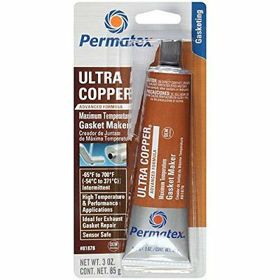 Permatex 81878  Ultra Copper Maximum Temperature RTV Silicon
