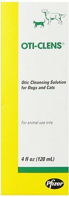 Fort Dodge Oti-Clens Cleansing Solution  4-Ounce