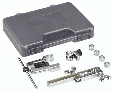 OTC 6504 Deluxe ISO Bubble Flaring Tool Set with Cutter