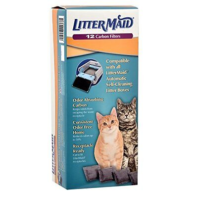 LitterMaid Carbon Filters  12-Count