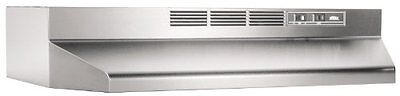 Broan 413004 ADA Capable Non-Ducted Under-Cabinet Range Hood