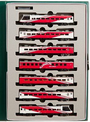 Kato 10-306 Super Express Rainbow 7 Coach Set