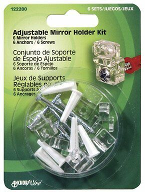 Hillman Mirror Holder Kit Carded / 6
