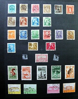 UNCHECKED Hungary, Page of. Stamps (ref k3552)
