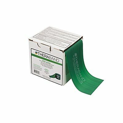 Thera-Band Heavy 25 Yard-Latex Free Exercise Bands, Green