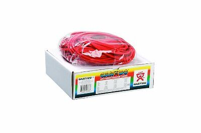 Cando 10-5522 Red Exercise Tubing, Light Resistance, 100' Length