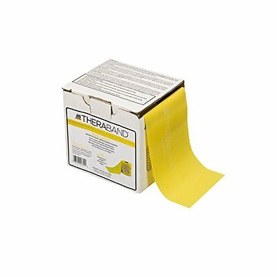 Thera-Band Thin 25 Yard-Latex Free Exercise Bands, Yellow