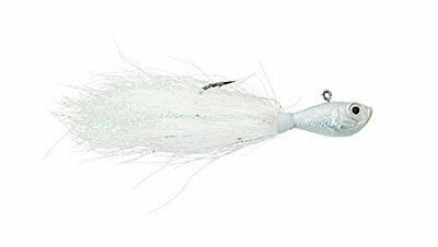 Spro Bucktail Jig-Pack of 1, White, 2-Ounce