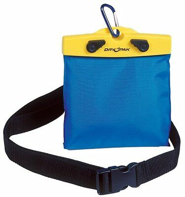 "DRY PAK DP-65 Yellow/Blue 6"" x 5"" Waterproof Belt Pack"