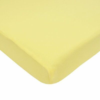 American Baby Company Jersey Knit Porta-Crib Sheet, Maize