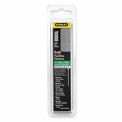 Stanley Swkwbn100 1 Inch White Brad Nails,Pack of 1000(Pack