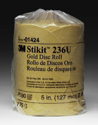"3M 01439 Stikit Gold 6"" P180A Grit Disc Roll"