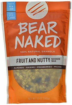 Bear Naked All Natural Granola  Fruit and Nut   12-Ounce Pouches (Pack of 6
