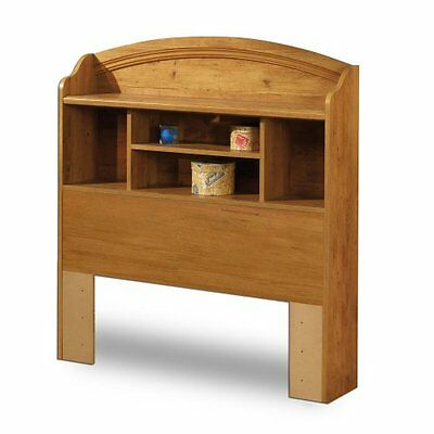Prairie Collection Twin Bookcase Headboard Country Pine fini