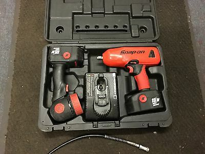 """Snap On 18V 1/2"""" Cordless Impact Wrench And Torch  Free Delivery"""