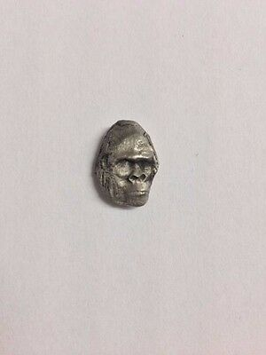 Gorilla Ape S47 Made from Solid Fine English Pewter Pin Lapel Badge