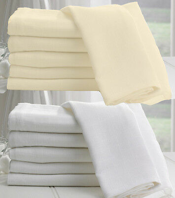 100% Cotton Soft Muslin - Sheer Voile Curtain Cloth Craft Fabric Material Cheese