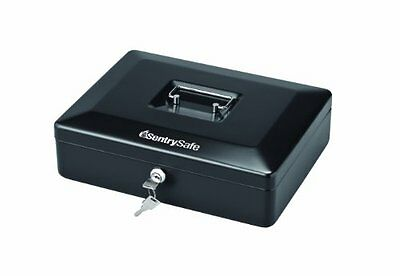 SentrySafe CB12 Large Cash Box, Black