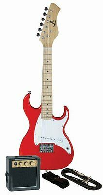 Youth Electric Double Cutaway Guitar Pack