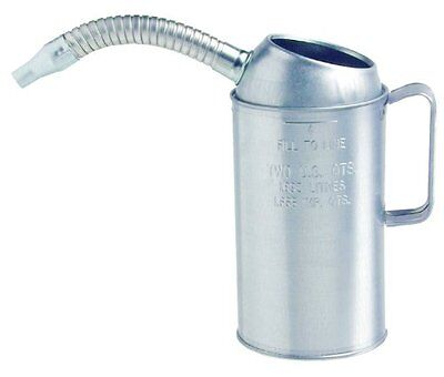 Plews 75-444 Galvanized Measure Spout - 4 Quart Capacity