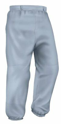 Easton Youth Pro Pull Up Pant, Gray, Small
